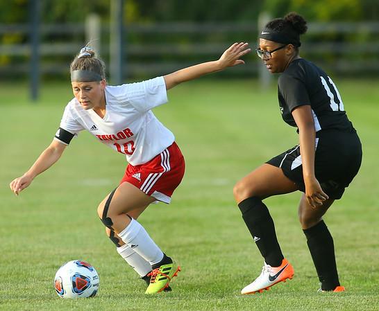9-4-19<br /> Taylor vs Peru girls soccer<br /> <br /> Kelly Lafferty Gerber | Kokomo Tribune