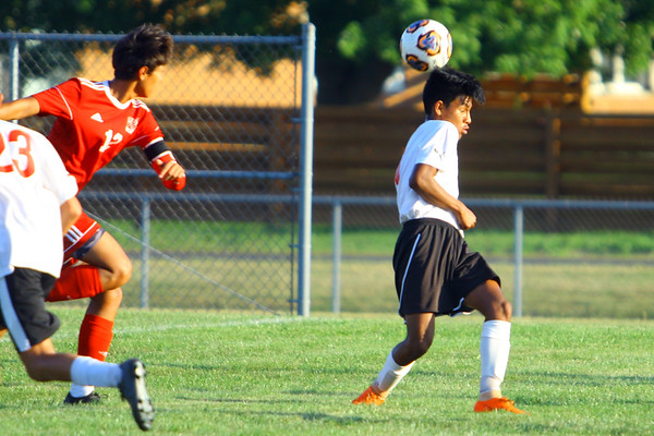 Soccer between Kokomo High School and Logansport High School on Sept. 17, 2019.<br /> Tim Bath   Kokomo Tribune