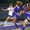 Western's Audrey Rassel takes the ball around the defense and shoots wide. Western HS girls defeat Northwestern HS 3-0 on Sept. 19, 2019.<br /> Tim Bath | Kokomo Tribune