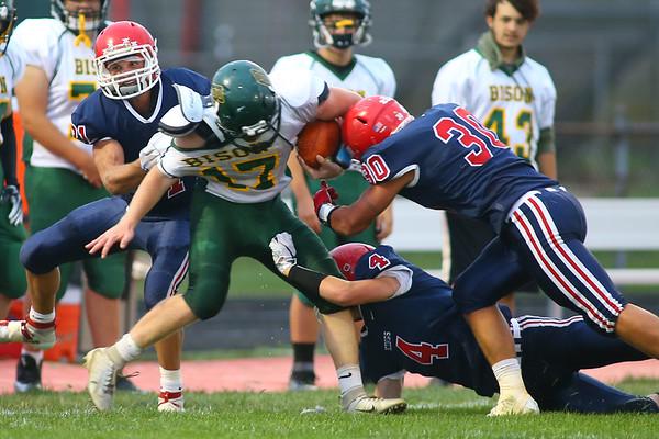 Lewis Cass High School football defeated Benton Central 68-0 on Sept. 6, 2019.<br /> Tim Bath   Kokomo Tribune