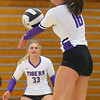 9-3-19<br /> Northwestern vs Clinton Central volleyball<br /> NW's Lexi Robinson goes for a dig.<br /> Kelly Lafferty Gerber | Kokomo Tribune