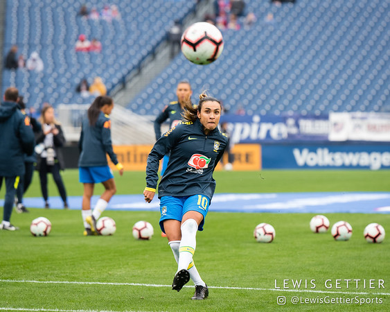 2019 SheBelieves Cup - Brazil vs Japan