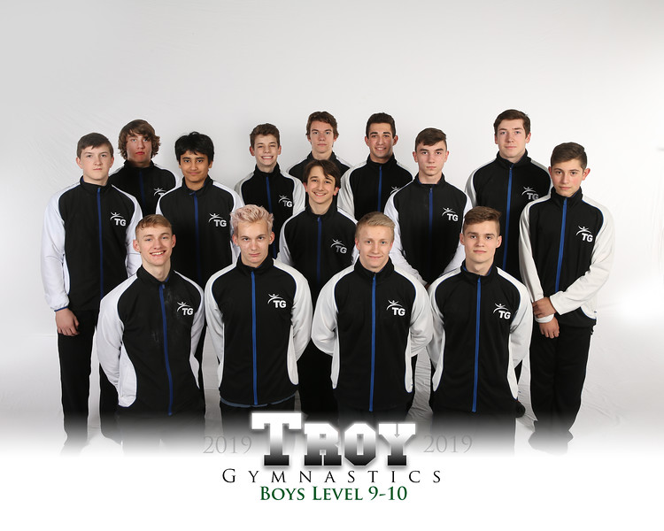 Boys level 9-10