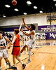 Mount Vernon Varsity Tigers vs Commerce Tigers  Basketball game photos