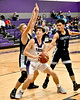 Mount Vernon Varsity Tigers vs Como-Pickton Eagles  Basketball game photos