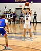 Mount Vernon Varsity Tigers vs Prairiland Patriots  Basketball game photos