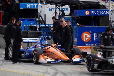 INDYCAR Spring Testing 2019 at WeatherTech Raceway Laguna Seca by Bob Heathcote