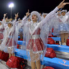 Lumberton Raider Raiderettes start up the game under wet conditions as they take on the Carthage Bulldogs for the 4A Area Round Playoff Friday, Nov 22, 2019 in Lumberton, Tx.  Photo: Drew Loker/Special to The Enterprise