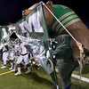 LCM Bears take to the field on a cold Friday night against the Lumberton Raiders in Lumberton. Photo: Drew Loker/Special to The Enterprise