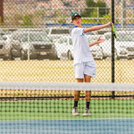 2020-03-14 Dixie HS Tennis vs Lehi_0006 - Brady