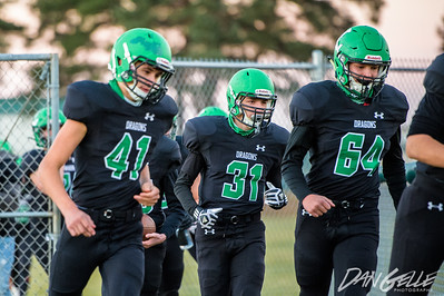 Dragons Football vs DC Chargers