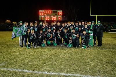Dragons Football vs Rockford in Section 2AAA Championship