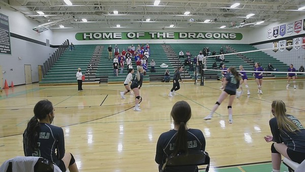 Dragons Volleyball vs GSL