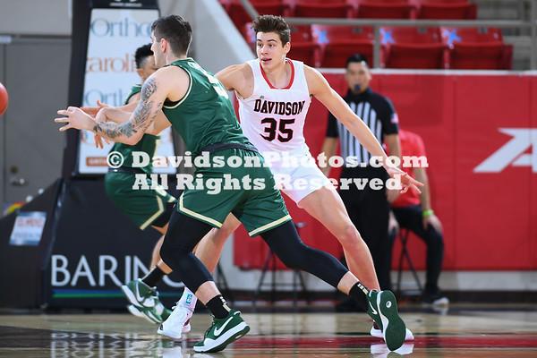 NCAA BASKETBALL:  DEC 15 Charlotte at Davidson