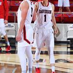 NCAA BASKETBALL:  NOV 25 High Point at Davidson
