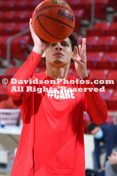 NCAA BASKETBALL:  JAN 08 Richmond at Davidson