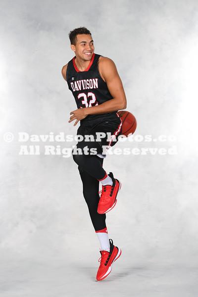 NCAA BASKETBALL:  DEC 08 Davidson Men's Basketball Media Day