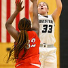12-8-20<br /> Western vs Kokomo girls basketball<br /> Western's Caroline Long puts up a shot.<br /> Kelly Lafferty Gerber | Kokomo Tribune