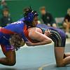 Wrestling between Kokomo HS and Eastern HS on Dec. 2, 2020. <br /> 145 - Kokomo's Myles Lenoir and Eastern's Luke Hetzner<br /> Tim Bath | Kokomo Tribune