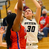 12-8-20<br /> Western vs Kokomo girls basketball<br /> Western's Haley Scott puts up a shot.<br /> Kelly Lafferty Gerber | Kokomo Tribune
