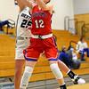 12-8-20<br /> Western vs Kokomo girls basketball<br /> Western's Ella Biggs and Kokomo's Brooke Hughes go after a rebound.<br /> Kelly Lafferty Gerber | Kokomo Tribune