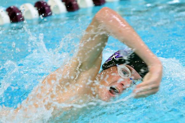 Northwestern Swimming & Diving on Dec. 8, 2020. <br /> Caleb Champion<br /> Tim Bath | Kokomo Tribune
