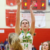 2-5-20<br /> Eastern vs Bellmont girls sectional basketball<br /> Eastern's Rylie Davison shoots.<br /> Kelly Lafferty Gerber | Kokomo Tribune