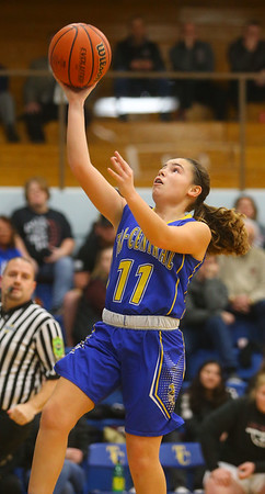2-4-20<br /> Tri-Central vs Wes-Del girls basketball sectional<br /> <br /> Kelly Lafferty Gerber   Kokomo Tribune