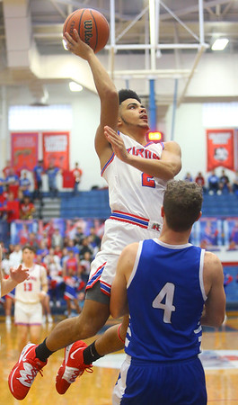 2-8-20<br /> Basketball Day-Kokomo vs Tipton<br /> Kokomo's Ta'Shy Stewart shoots.<br /> Kelly Lafferty Gerber | Kokomo Tribune