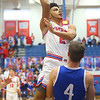 2-8-20<br /> Basketball Day-Kokomo vs Tipton<br /> Kokomo's Ta'Shy Stewart shoots.<br /> Kelly Lafferty Gerber | Kokomo Tribune