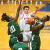 2-6-20<br /> Kokomo vs Arsenal Tech boys basketball<br /> Bobby Wonnell loses control of the ball to an Arsenal Tech steal.<br /> Kelly Lafferty Gerber | Kokomo Tribune