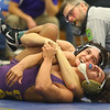 2-1-20<br /> Sectional wrestling<br /> Western's Hayden Shepherd defeats Marion's Daylen Johnson in the 138.<br /> Kelly Lafferty Gerber | Kokomo Tribune