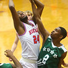 2-6-20<br /> Kokomo vs Arsenal Tech boys basketball<br /> Kokomo's R.J. Oglesby puts up a shot.<br /> Kelly Lafferty Gerber | Kokomo Tribune