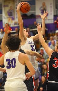 2-11-20 Northwestern vs Blackford boys basketball  Kelly Lafferty Gerber | Kokomo Tribune