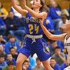 2-4-20<br /> Tri-Central vs Wes-Del girls basketball sectional<br /> TC's Lily Stogdill shoots.<br /> Kelly Lafferty Gerber | Kokomo Tribune
