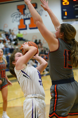 2-5-21<br /> Northwestern girls loose to Harrison in Friday evenings sectional basketball match up in West Lafayette.<br /> Tim Bath | Kokomo Tribune