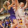 2-8-20<br /> Northwestern vs McCutcheon girls basketball sectional championship <br /> McKenna Layden puts up a shot.<br /> Kelly Lafferty Gerber | Kokomo Tribune