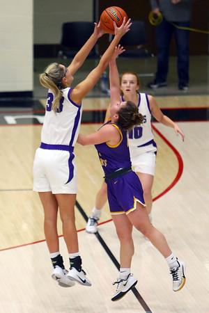 Girls sectional basketball at Logansport between Northwestern and Marion HS on February 7, 2020.<br /> Tim Bath | Kokomo Tribune