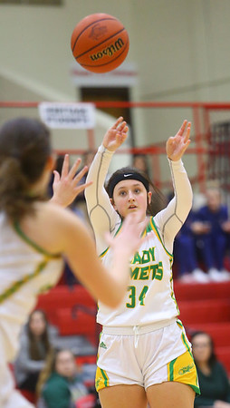 2-5-20<br /> Eastern vs Bellmont girls sectional basketball<br /> <br /> Kelly Lafferty Gerber | Kokomo Tribune