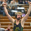 2-1-20<br /> Sectional wrestling<br /> Eastern's Tallan Morrisett defeats Oak Hill's Tyler Miller in the 145.<br /> Kelly Lafferty Gerber | Kokomo Tribune