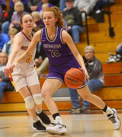 2-8-20<br /> Northwestern vs McCutcheon girls basketball sectional championship <br /> <br /> Kelly Lafferty Gerber | Kokomo Tribune