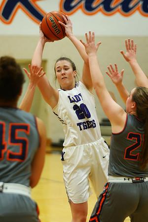 2-5-21<br /> Northwestern girls loose to Harrison in Friday evenings sectional basketball match up in West Lafayette.<br /> Tim Bath   Kokomo Tribune