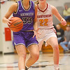 2-8-20<br /> Northwestern vs McCutcheon girls basketball sectional championship <br /> Madison Layden takes the ball down the court.<br /> Kelly Lafferty Gerber | Kokomo Tribune