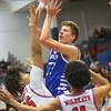 2-8-20<br /> Basketball Day-Kokomo vs Tipton<br /> Tipton's Ben Humrichous puts up a shot.<br /> Kelly Lafferty Gerber | Kokomo Tribune