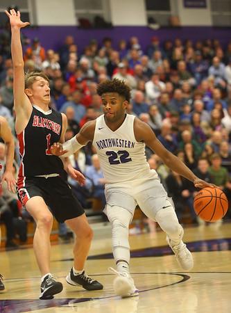 2-11-20<br /> Northwestern vs Blackford boys basketball<br /> <br /> Kelly Lafferty Gerber | Kokomo Tribune