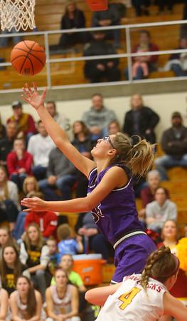 2-8-20<br /> Northwestern vs McCutcheon girls basketball sectional championship <br /> <br /> Kelly Lafferty Gerber   Kokomo Tribune