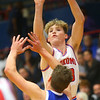 2-8-20<br /> Basketball Day-Kokomo vs Tipton<br /> Kokomo's Jackson Richards shoots.<br /> Kelly Lafferty Gerber | Kokomo Tribune
