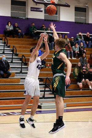 2-13-21<br /> Northwestern defeats Eastern in Saturday evenings boys basketball matchup 49-44.<br /> Tim Bath   Kokomo Tribune