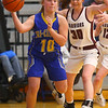 2-4-20<br /> Tri-Central vs Wes-Del girls basketball sectional<br /> TC's Megan Conner looks for a pass.<br /> Kelly Lafferty Gerber | Kokomo Tribune