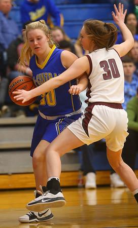 2-4-20<br /> Tri-Central vs Wes-Del girls basketball sectional<br /> <br /> Kelly Lafferty Gerber | Kokomo Tribune